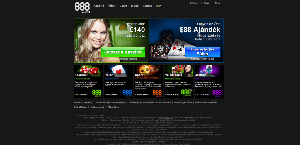 888 Casino Flash